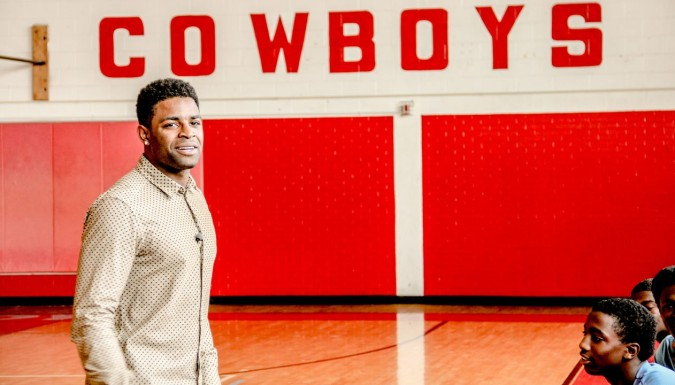 Michael Crabtree Returns to Dallas, Texas
